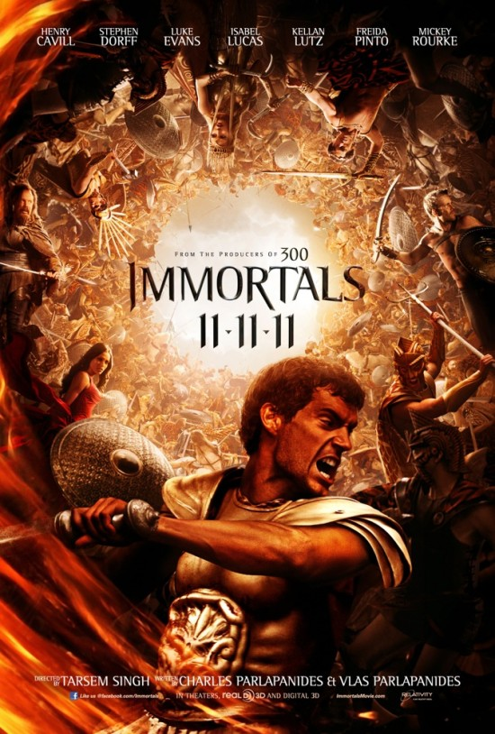 immortals comic-con poster