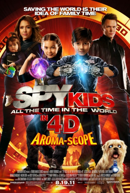 spy kids all the time in the world movie poster