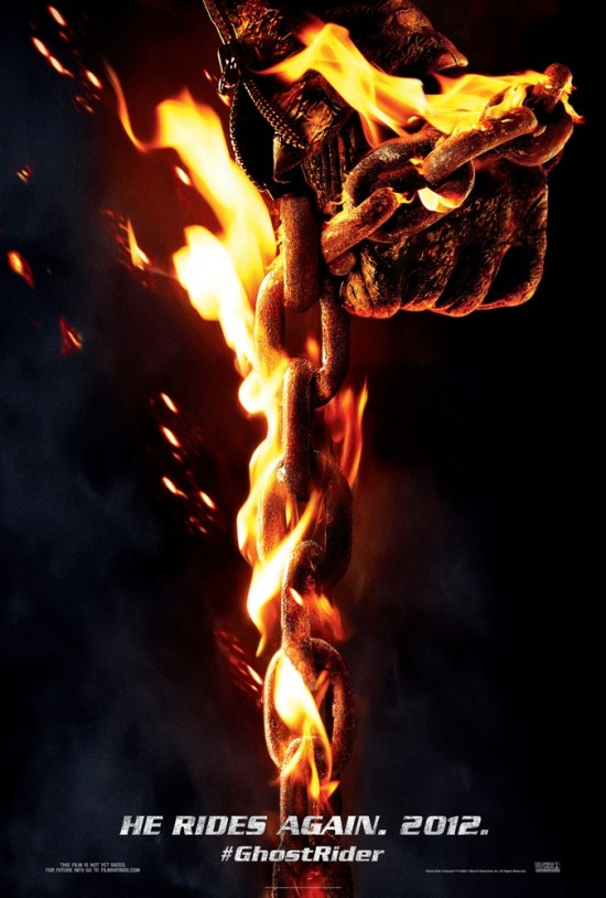 ghost rider spirit of vengeance movie poster