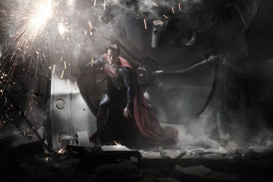man of steel movie photo henry cavill as superman