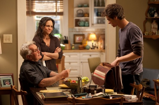 The Amazing Spider-Man - Martin Sheen, Sally Field and Andrew Garfield