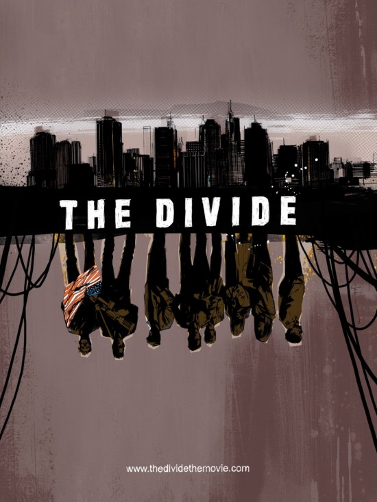 the divide movie poster comic con 2011