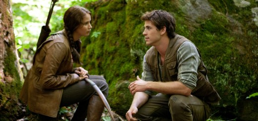 Jennifer Lawrence Liam Hemsworth THE HUNGER GAMES.