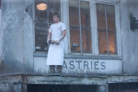 Josh Hutcherson as Peeta Mellark THE HUNGER GAMES.