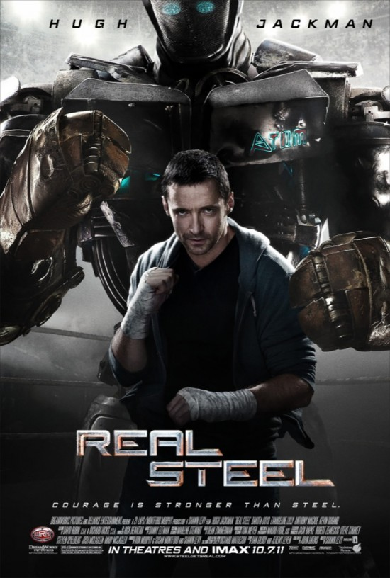 real steel movie poster