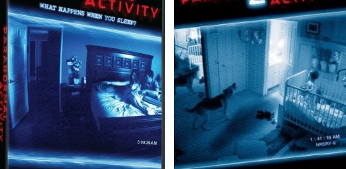 paranormal activity dvds