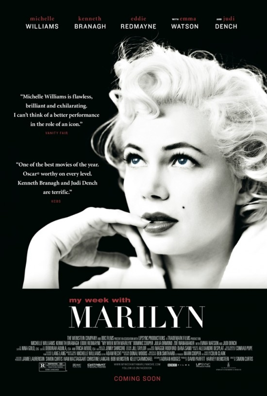 My Week With Marilyn Poster