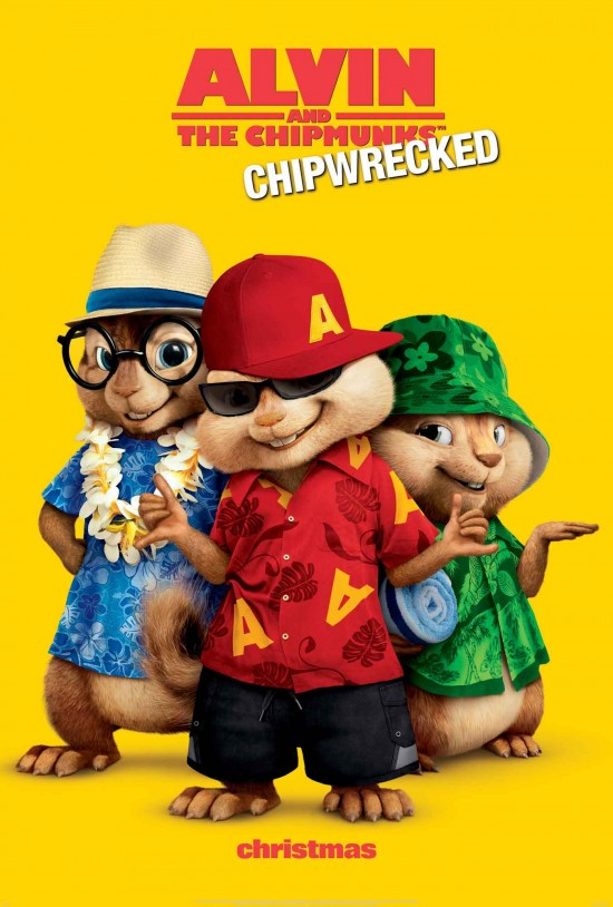 ALVIN AND THE CHIPMUNKS: CHIPWRECKED! poster