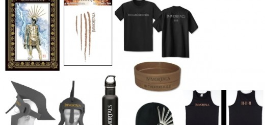 immortals prize pack