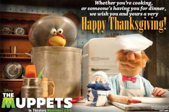 the muppets thanksgiving
