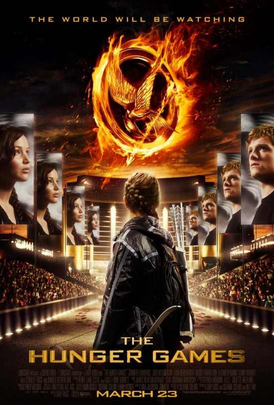 The Hunger Games stadium poster