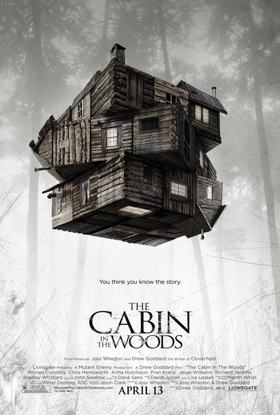 the cabin in the woods movie poster 02