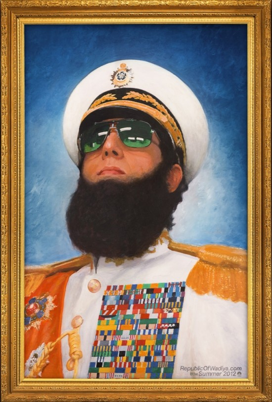 the dictator teaser poster 01