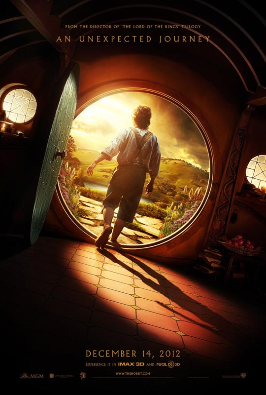 the hobbit an unexpected journey teaser poster 01