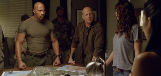 GI Joe Retaliation Bruce Willis Dwayne Johnson