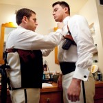 "Jonah Hill, left, and Channing Tatum in Columbia Picture's ""21 Jump Street."""
