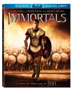 immortals blu-ray