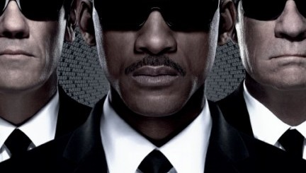 'Men in Black 3' Movie Poster with Will Smith, Tommy Lee Jones & Josh Brolin