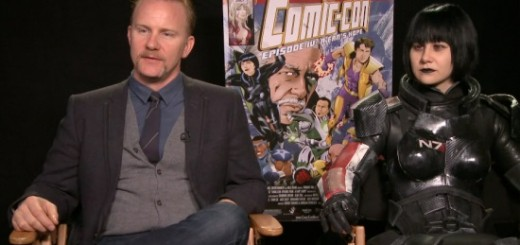 comic con a fans hope morgan spurlock holly conrad