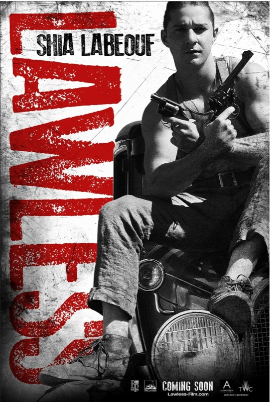 labeouf lawless poster