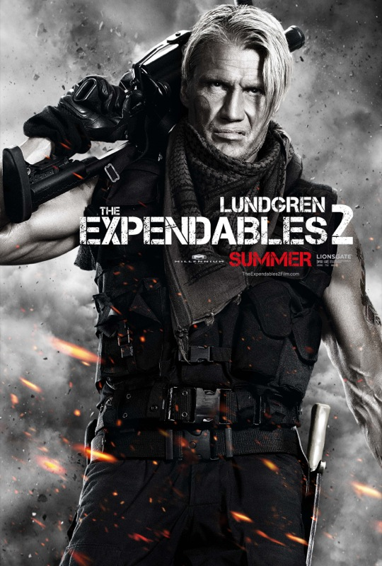 'The Expendables 2' Character Posters with Sylvester ...