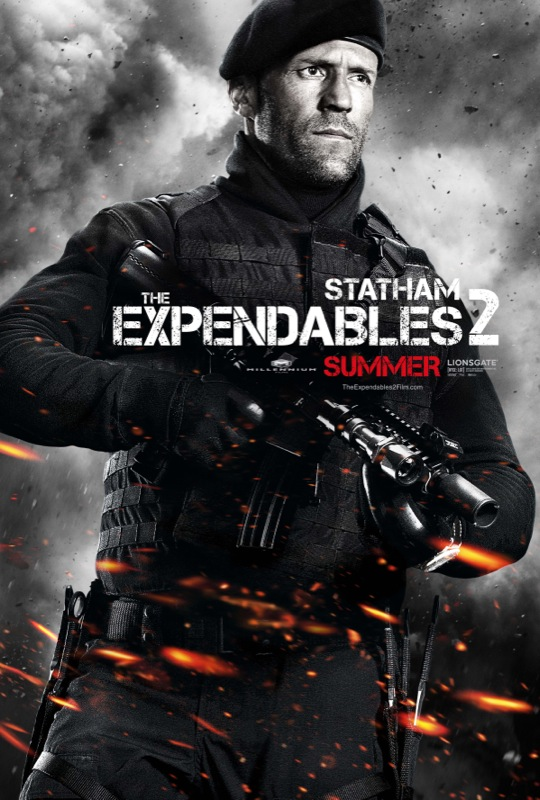 the expendables 2 movie poster 12
