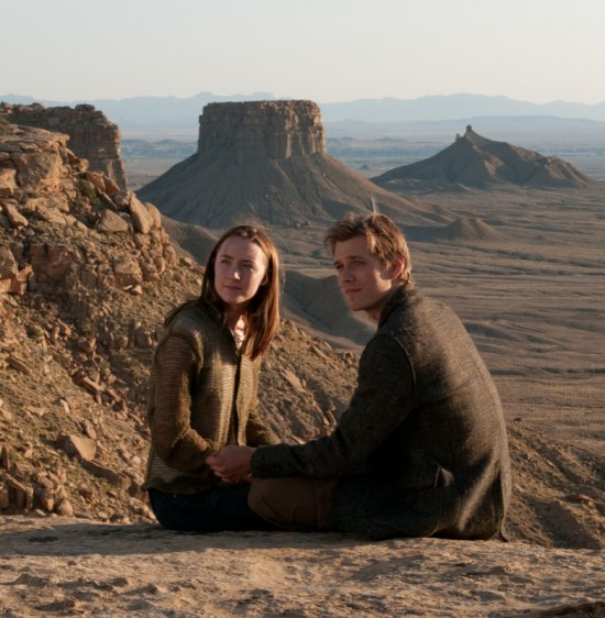 Saoirse Ronan and Jake Abel in The Host