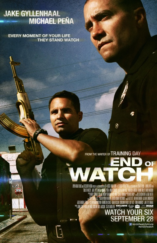 The Watch Movie Poster 'End of Watch' Movie P...