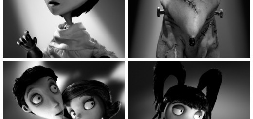 frankenweenie collage