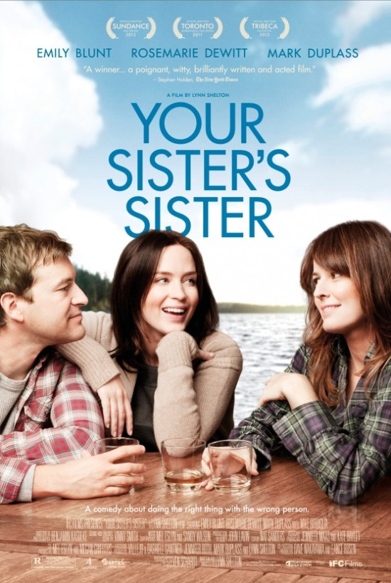 your sisters sister movie poster