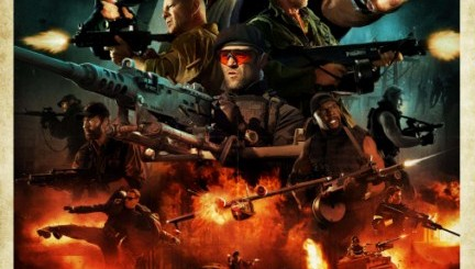 'The Expendables 2' Comic-Con Poster