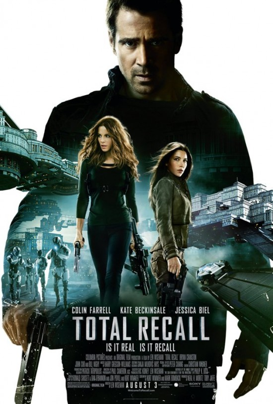 'Total Recall' Comic Con Poster