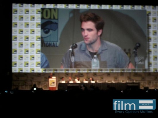 Twilight Breaking Dawn Part 2 Comic-Con panel