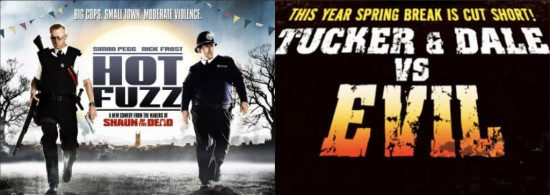 Hot Fuzz and Tucker & Dale