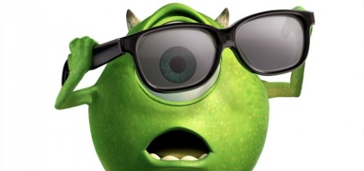 Monsters Inc. Poster Mike 3D Glasses