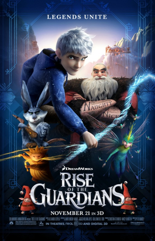rise of the guardians movie poster 10