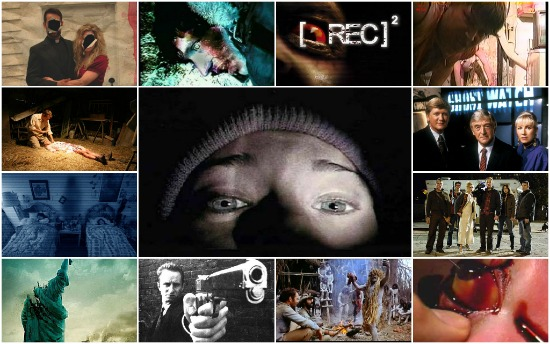 The Top 13 Found Footage Horror Movies