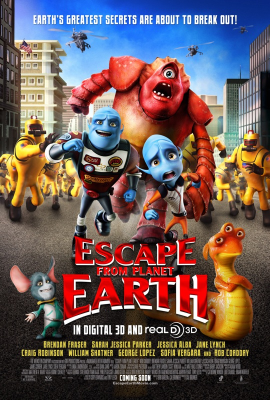 escape from planet earth movie poster 01