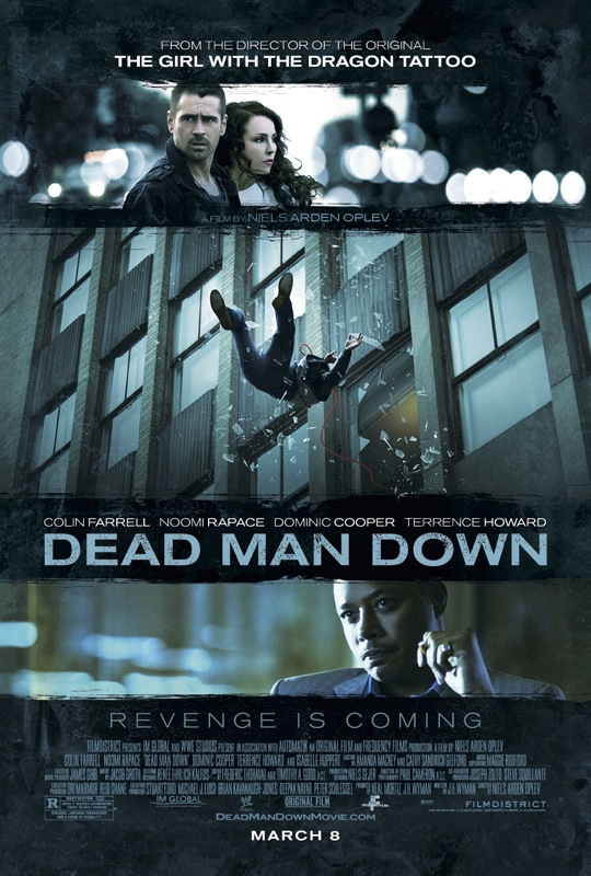 dead man down movie poster 01