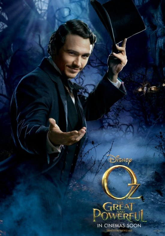 oz the great and powerful poster dark wizard