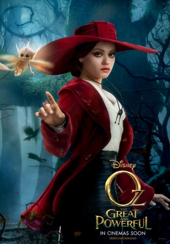 oz the great and powerful poster theodora