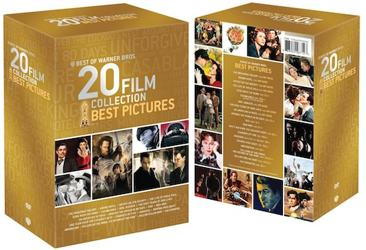WB 20 film best pic dvd