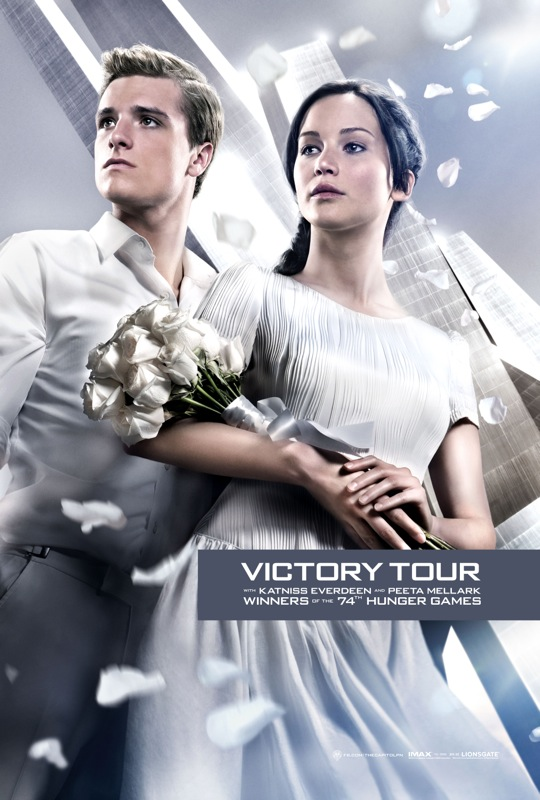 the hunger games catching fire victory tour poster 01