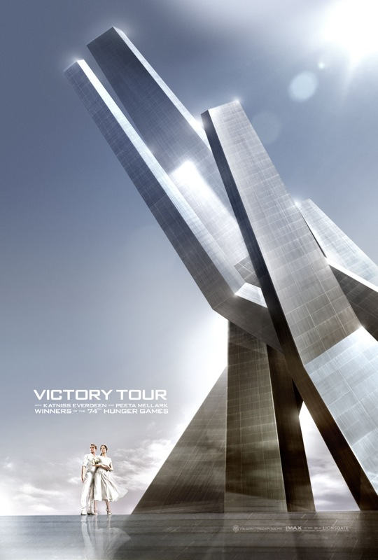 the hunger games catching fire victory tour poster 02