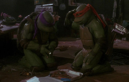 Awesome Being Green: A Review of the Teenage Mutant Ninja Turtles m