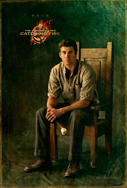 the hunger games catching fire poster_gale_l