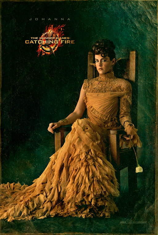 the hunger games catching fire poster_johanna_l