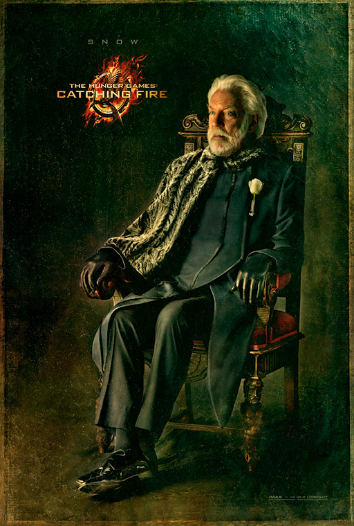 the hunger games catching fire poster_snow_l