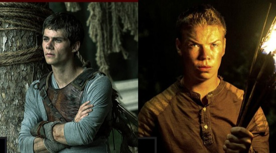 the maze runner Dylan OBrien Will Poulter