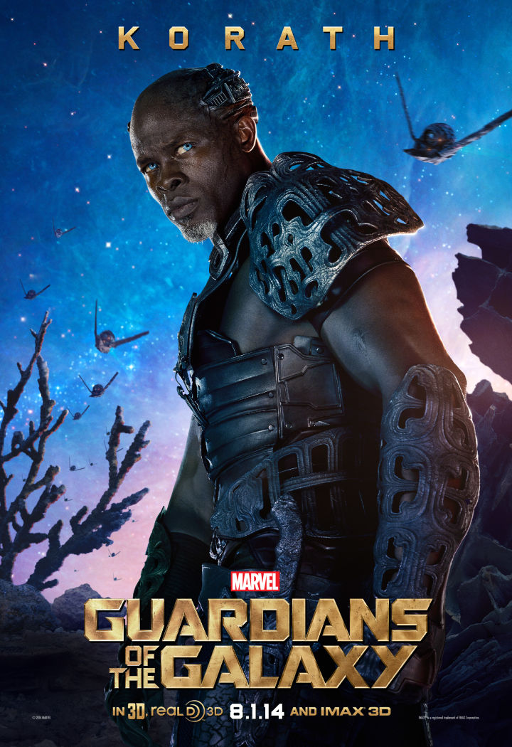 Guardians of the galaxy character poster 2 81028